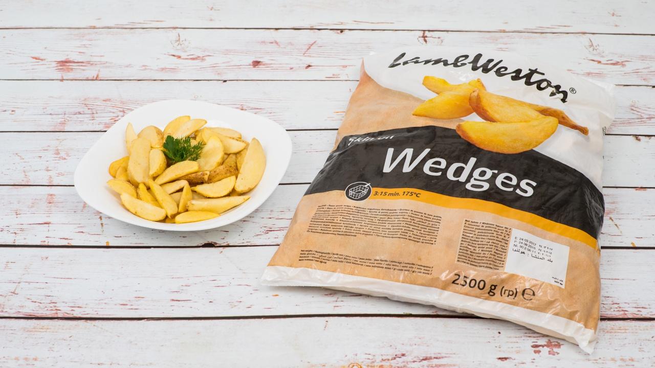 Product #103 image - Cartofi 2.5 kg Wedges cu piele