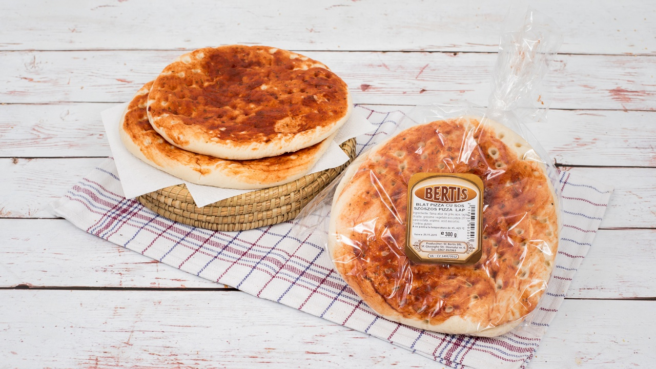 Product #137 image - Blat pizza cu sos 300 g