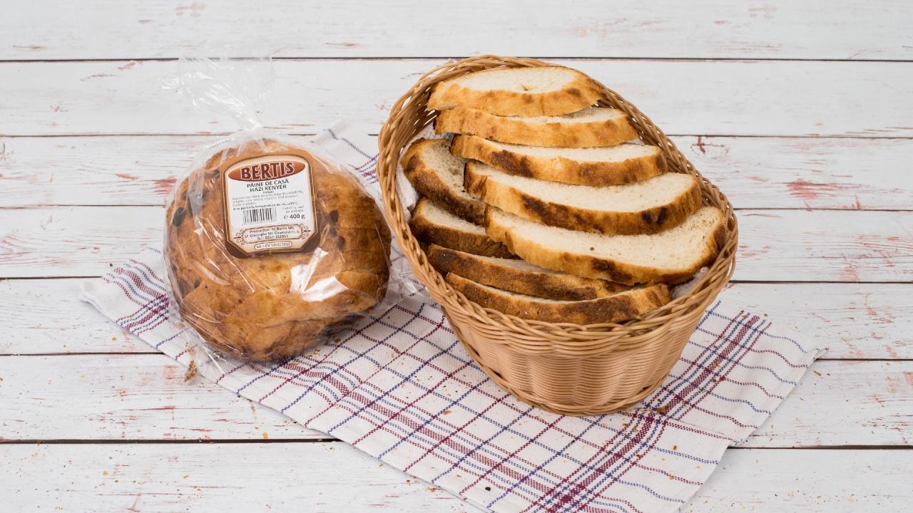 Product #186 image - Pâine de casă feliată 400 g
